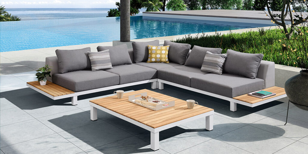 Luxury patio and outdoor furniture delivery